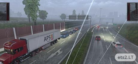 Mega Traffic Mod v 3 2 | ETS 2 mods