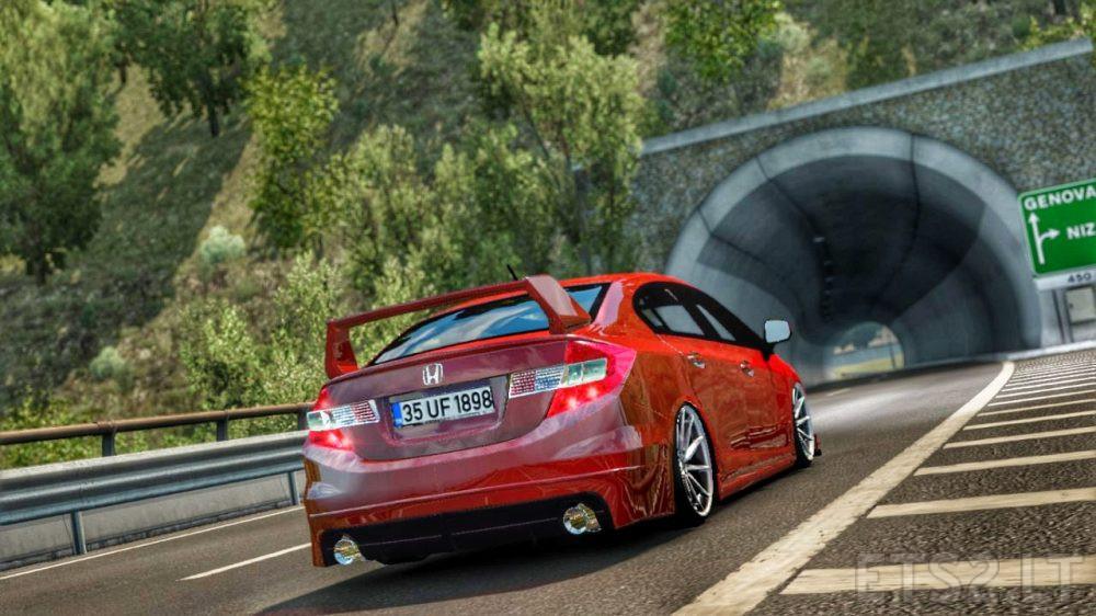 Honda Civic FB7 | ETS 2 mods